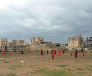 فريق جامعة 21 سبتمبر يحقق فوزاً مستحقاً في أولى مباريات بطولة جامعة 21 سبتمبر الخارجية لكرة القدم
